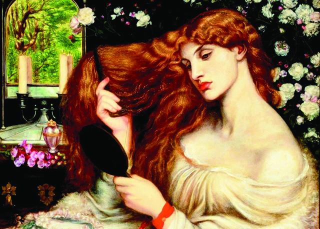 Nàng thơ tóc dài và kiệt tác Lady Lilith của Rossetti