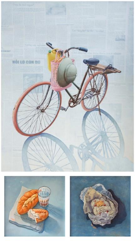 Người bạn-2014, acrylic, Giải KK, Nguyễn Tuấn Dũng (Hà Nội)