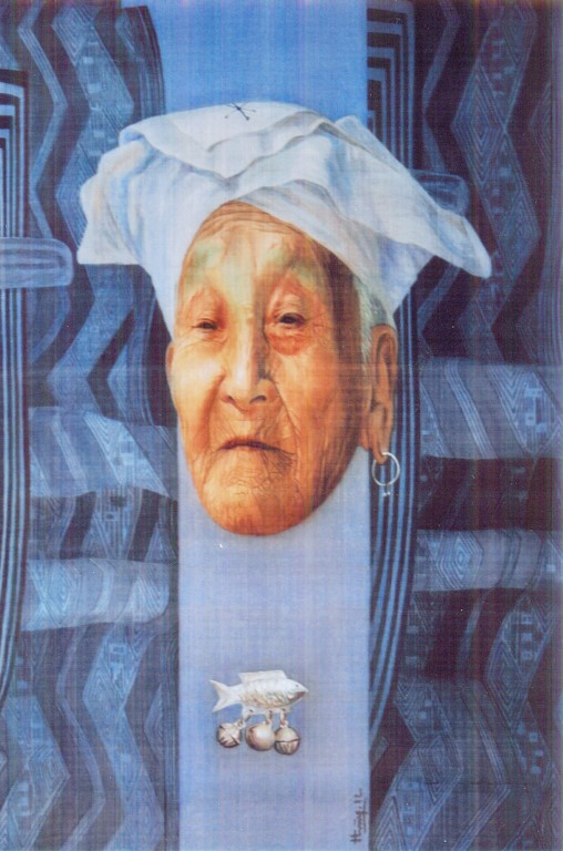 Tiêu bản năm 20xx-2012, lụa, Giải KK, Mai Hùng (Tuyên Quang)