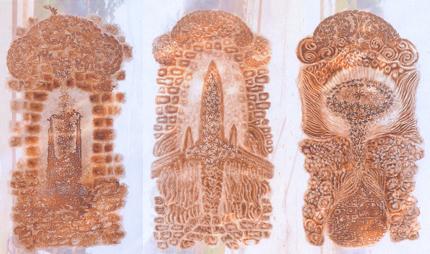 Đi qua thời gian-2014, Đồ họa trúc chỉ, Giải KK, Trần Ánh Phi (Huế)