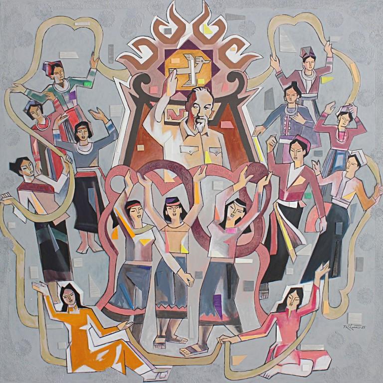 Múa vui bên Bác, Thế Hữu