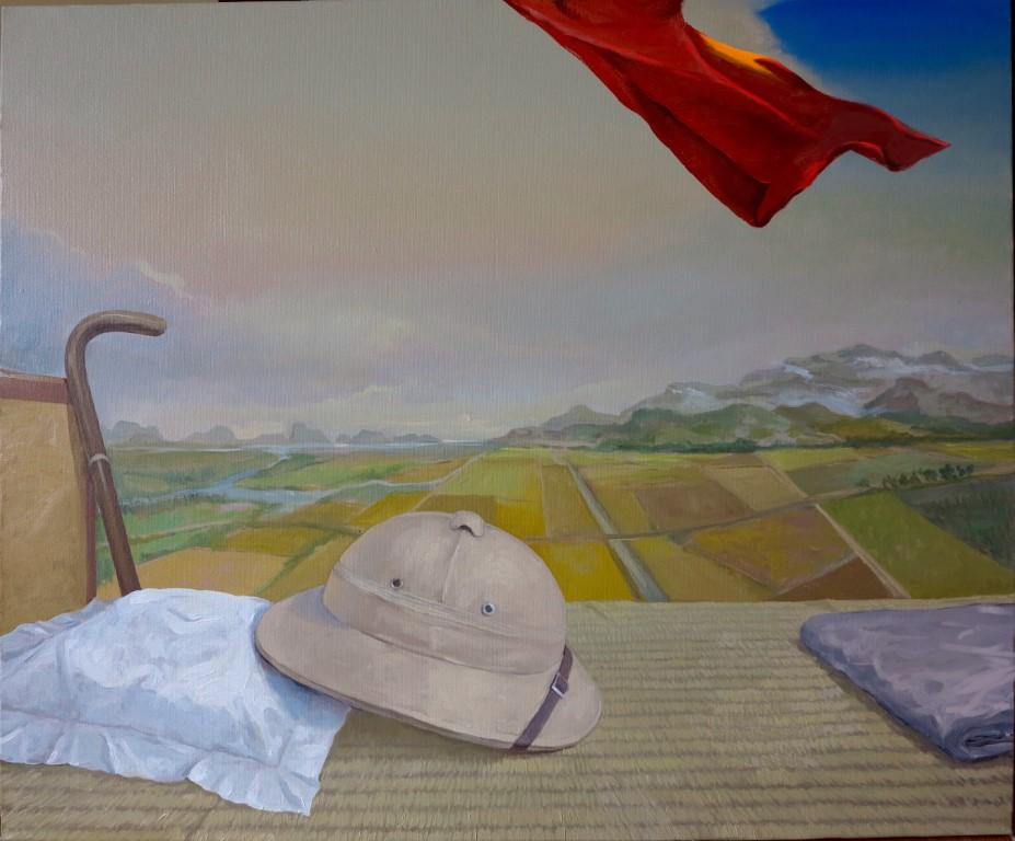 Kỷ vật II, sơn dầu, Giải Nhì, Lê Huy Tiếp (Hà Nội)