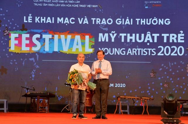 Khai mạc Festival Mỹ thuật trẻ 2020