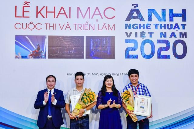 Lễ Trao giải và Khai mạcTriển lãm Ảnh nghệ thuật Việt Nam năm 2020 tại TP.Hồ Chí Minh